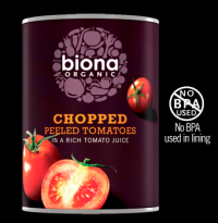 Image for Organic Chopped Tomatoes
